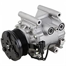 AC Compressor & A/C Clutch For Jaguar S-Type X-Type Lincoln LS V6 - BuyAutoParts 60-00797NA NEW