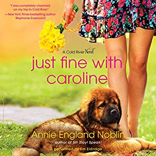 Just Fine with Caroline audiobook cover art