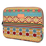 Varylala Canvas Sleeve Case Bag Cover for 15-inch Laptop / Computer / MacBook Pro (Bohemian Pattern, 15 inch)