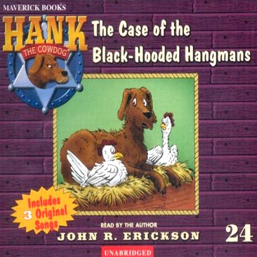 The Case of the Black Hooded Hangmans audiobook cover art