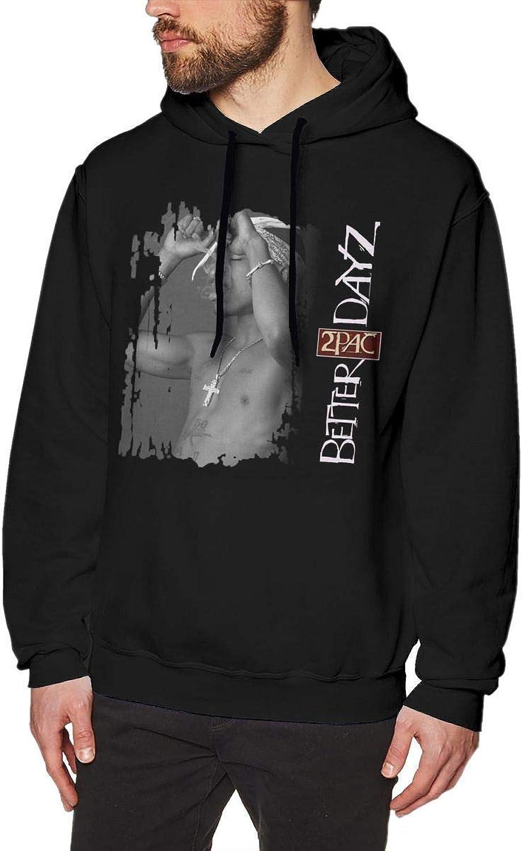 Skudf 2Pac Better DayZ Mens Hoodies Sweater Black