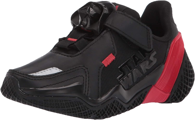 adidas Unisex-Child 4uture Runner Starwars Elastic Running Shoe