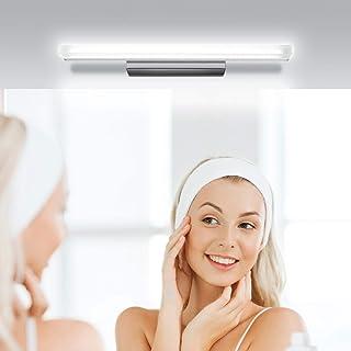 Kohree Lampe de miroir à LED IP44 étanche pour miroir de salle de bain, salle de bains, 50 cm, lampe de salle de bains, éc...