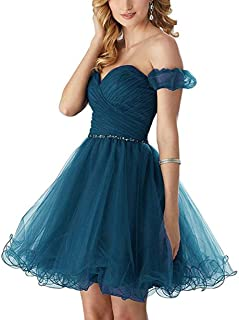 9d6abdd4bd6a0b Z Sexy Sweetheart Homecoming Dresses 2018 Short Beaded Puffy Tulle Prom  Dresses Party Gowns