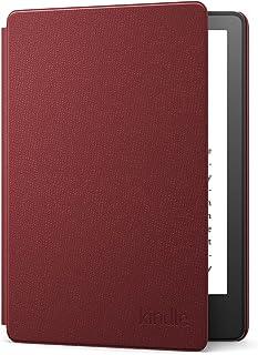 Étui en cuir pour Amazon Kindle Paperwhite   Compatible avec les appareils 11e génération (modèle 2021)   Bordeaux