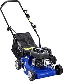 "Giantz Lawn Mower 4 Stroke 17"" Petrol Powered Hand Push Engine Lawnmower Catch"