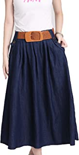 Slim Denim Skirt Casual Tutu Long Skirt Fashion Mini Jeans Skirts Saia Longa