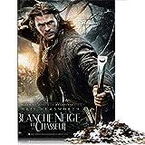 1000 Rompecabezas Blancanieves y el Cazador 1000 Piezas de Rompecabezas clásico Juego Familiar Juguete Educativo Regalo 38 * 52 cm-Chris Hemsworth