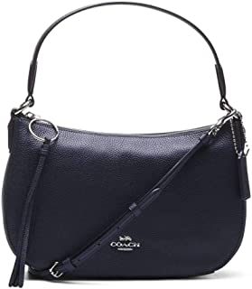 Coach Womens Polished Pebble Leather Sutton Crossbody