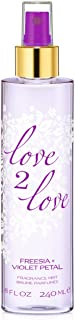 comprar comparacion Love 2Freesia Plus violeta pétalos fragancia niebla para su, 240ml