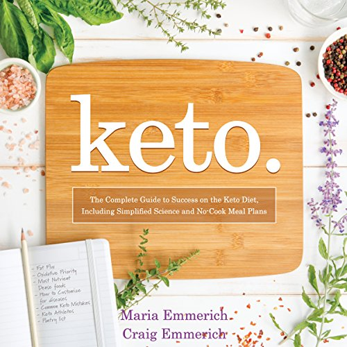 Keto audiobook cover art