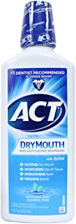 Act® Total Care Dry-Mouth Rinse, Flavor: Mint, 18 oz Bottles (1/Pack of 5)