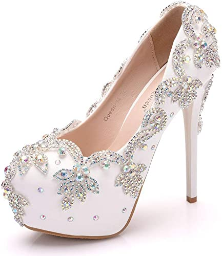 XLY Ultra-High-Heels, Wasserdichte Plattformschuhe, Stiletto Heel rund um die Trash-Hochzeit Trash-Hochzeit Trash-Hochzeit Brautschuhe, Party-und Bankettschuhe  offizielle Genehmigung