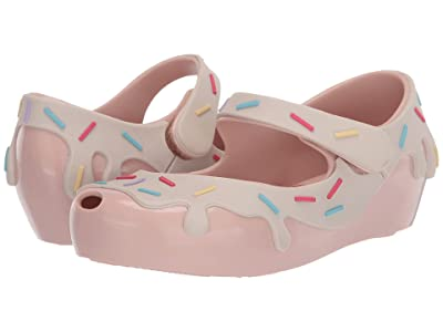 Mini Melissa Ultragirl Donut BB (Toddler/Little Kid) (Pink/Beige) Girl