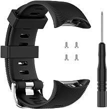 ZSZCXD Band for Garmin Forerunner 45/Forerunner 45s Watch, Silicone Wristband Replacement WatchBand Strap for Garmin Forer...