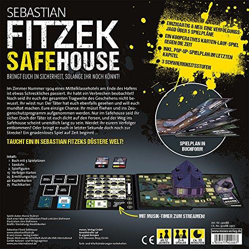 moses. Sebastian Fitzek SafeHouse – Das Spiel | Safe House Gesellschaftsspiel von Marco Teubner - 7