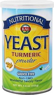 Kal Nutritional Natural Yeast, Turmeric, 5.4 Ounce