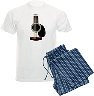 CafePress Acoustic Guitar Men's Light Pajamas Pajama Set