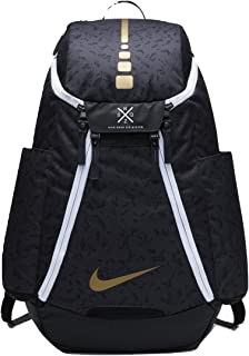 white and gold jordan backpack