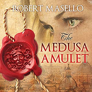 The Medusa Amulet audiobook cover art