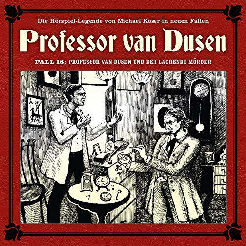 Couverture de Professor van Dusen und der lachende Mörder