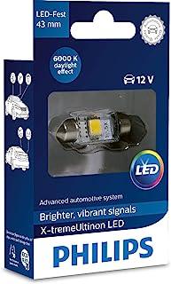 Philips automotive lighting MT-PH 129466000KX1 LED Interior car Light C5W 43mm Festoon, 6000 Kelvin