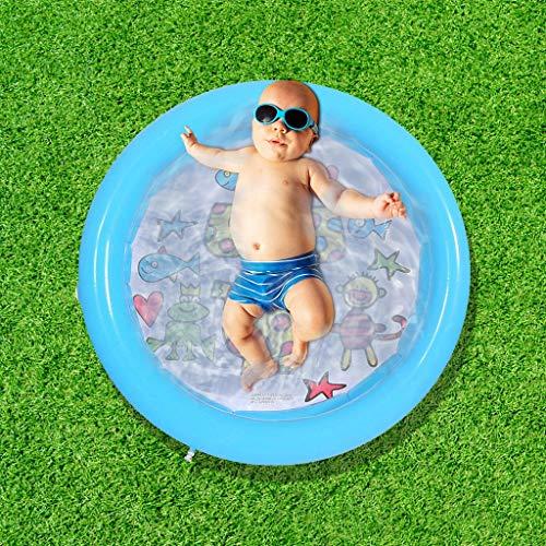 Fulltime E-Gadget Schwimmbecken Kinder, Rund Mini Pool Planschbecken für Kinder 23.7 Zoll für Garten und Outdoor