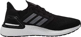 Men's Ultraboost 20 Running Shoe, Black/Night Metallic/White, 4 M US