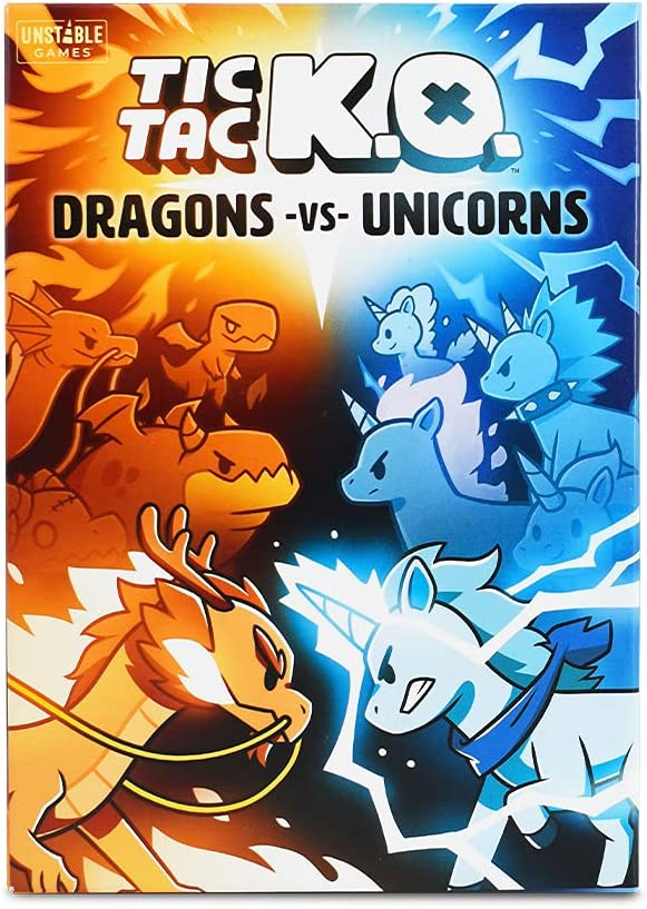 Tic Tac KO: El Paso Mall Dragons Max 80% OFF vs. Unicorns Creators The Game from o Base