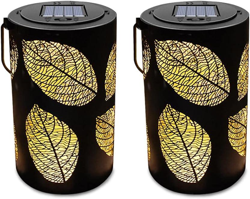 YCZDG Long Beach Mall Solar Hanging Lanterns Outdoor Waterproof Leaf Price reduction Light