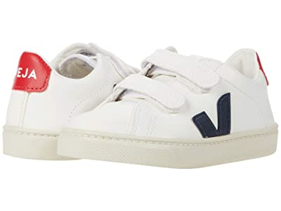 VEJA Kids Small Esplar Velcro (Toddler) (Extra White/Nautico/Pekin) Kid