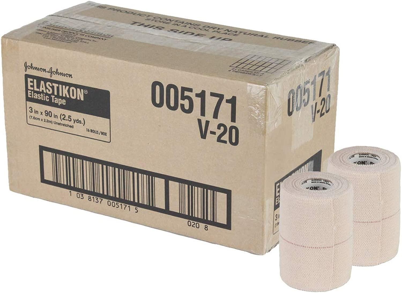[ジョンソン&ジョンソン] エラスチコン 伸縮テーピング 7.5cm幅 1箱16巻入り (JJ5171)
