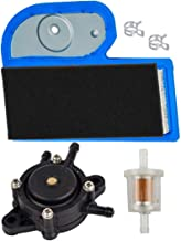 HIFROM Air Filter Pre Filter with Fuel Filter Fuel Pump Kit fit for Kawasaki FH451V FH500V FH531V FH580V 17hp 19hp 23hp John Deere LT180 LTR180 LX277 Replaces 11013-7002 49065-7010 M137556