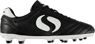 Mens Strike Firm Ground Football Boots Lace up Studs