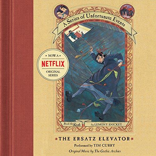 The Ersatz Elevator audiobook cover art