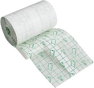 HFEEL 防水フィルムロールタイプ 透明絆創膏 粘着性 創傷用粘着 プラスターストレッチ固定テープ マルチフィックス (10cmX10m)
