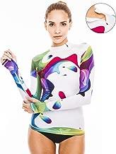 Women's Rash Guard Swim Shirt Long Sleeve Swimsuit Top Bathing Swimming Shirts - Sun Protection Clothing UPF 30+ / 50+