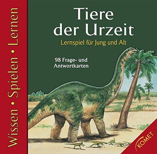 Lernspiel Tiere der Urzeit
