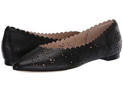 Cole Haan Callie Flat (Black Leather) Women