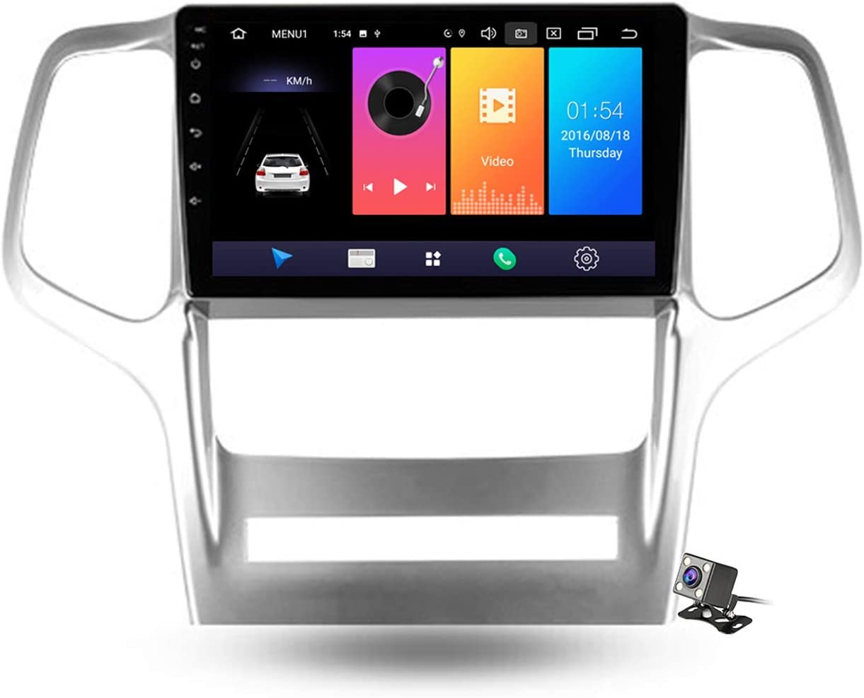 Car Stereo Android Max 68% OFF 9.0 Radio for Jeep Cherokee WK2 Baltimore Mall 2010-20 Grand