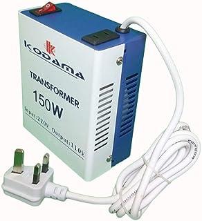 Latest Version KODAMA Transformer 220V to 110V Power Converter 150 Watt KOT150W [dpl]