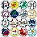 Da Vinci Golf Ball Marker Poker Chip Collection, 11.5 Gram Chips (16-Pack)
