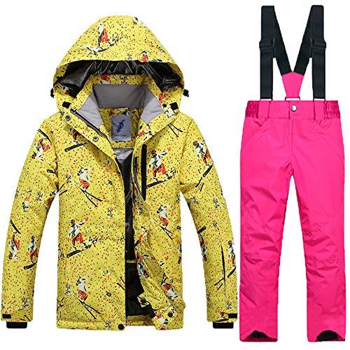 HXSKI Outdoor Skibroek voor kinderen, middelgrote en grote ski- en snowboardbroeken voor kinderen, winddicht en warm, professionele buitensportkleding