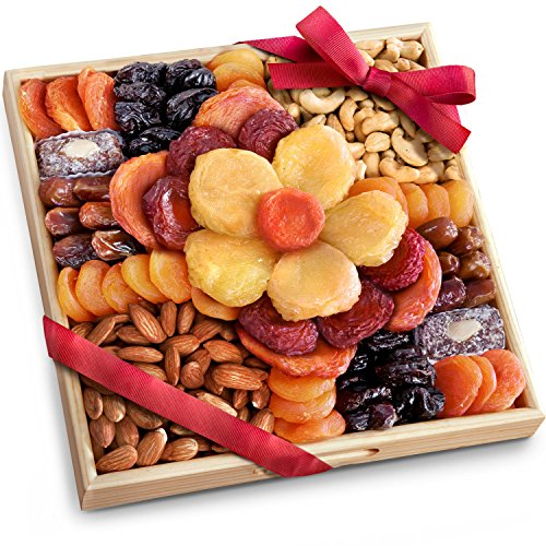 Flora Dried Fruit and Nut Gift Holiday Tray