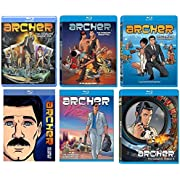 Archer: Complete Seasons 1-6 Blu-ray