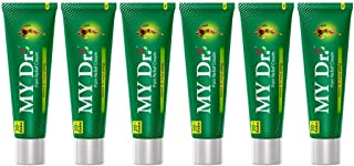 MY Dr. Pain Relief Cream 30g (25g + 5g Free) - Pack of 6 - Relieves Back Pain and Joint Pains - Non-Sticky, Stain-Free and...