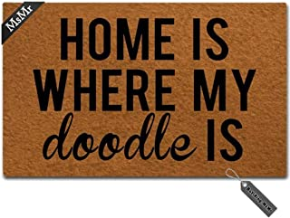 Best Home Is Where My Doodle Is Mat Of 2020 Top Rated