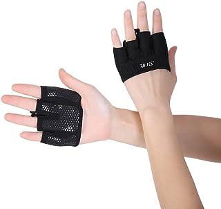 BOBORA トレーニンググローブ 重量挙げ 手袋 4本指 アウトドア 薄手 滑り止めシリコーン 通気性 耐磨耗性 ウェイトリフティング ジム フィットネス 筋トレ スポーツ 4色