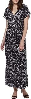 Lucky Brand Womens Short Sleeves Full Length Maxi Dress