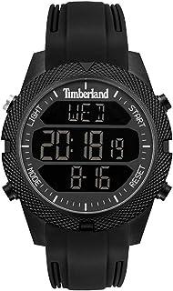 Timberland Reloj Analógico para Hombre de Cuarzo con Correa en Silicona 4895148680179